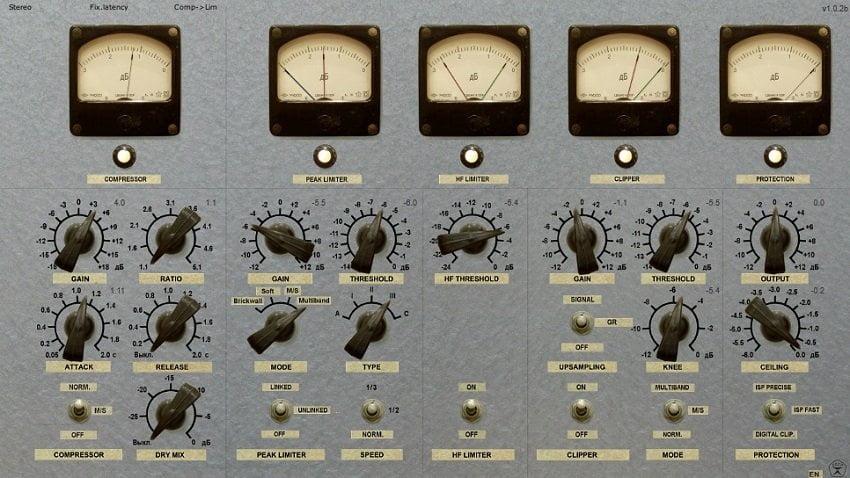 Vladg Sound Limiter №6 - The 10 Best Cheap Limiter Plugins 2021 (And 4 FREE Plugins) VST, VST3, RTAS, AU,AAX | Integraudio.com