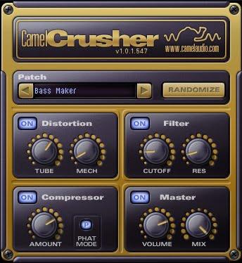 Camel Audio CamelCrusher - 11 Best Distortion Plugins 2021 & 4 Free Plugins | Integraudio.com