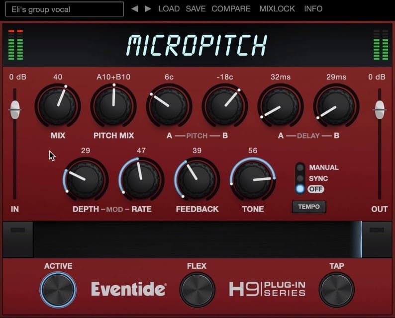 Eventide MicroPitch - The 6 Best Pitch Shifter Plugins (With 3 FREE Pitch Shifter Plugins)
