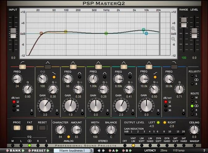 PSP Master Q2 - The 7 Best EQ Plugins For Mastering | Integraudio.com