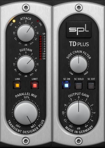 SPL Transient Designer Plus Review - The 10 Best Transient Shaper Plugins & Best FREE Plugins | Integraudio.com
