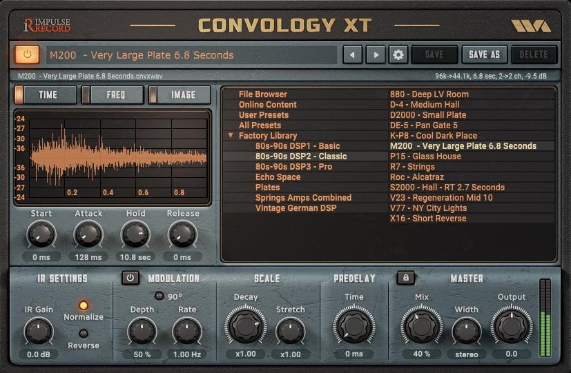 Convology XT Review - The 10 Best Convolution Reverb Plugins   Integraudio.com