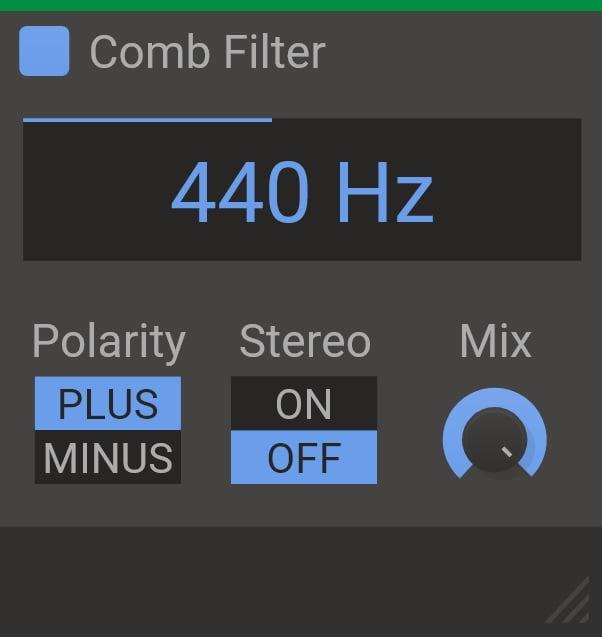 Kilohearts Comb Filter - The 4 Best Comb Filter & Resonator Plugins 2021 | Integraudio.com
