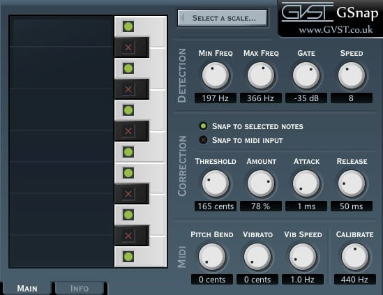 GVST GSnap - The 6 Best Pitch Shifter Plugins 2021 (With 3 FREE Pitch Shifter Plugins)