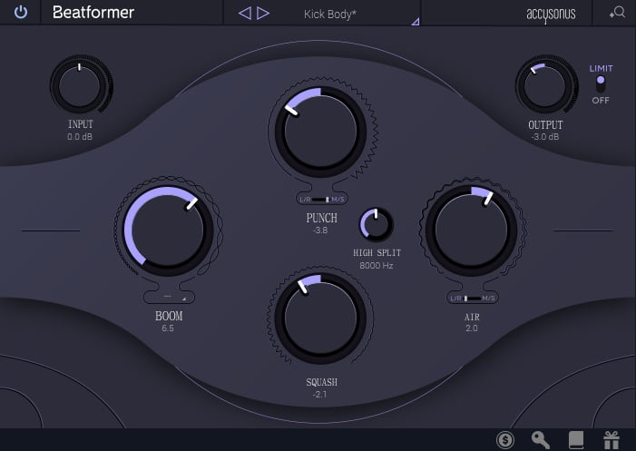 accusonus Beatformer Review - The 10 Best Transient Shaper Plugins & Best FREE Plugins | Integraudio.com