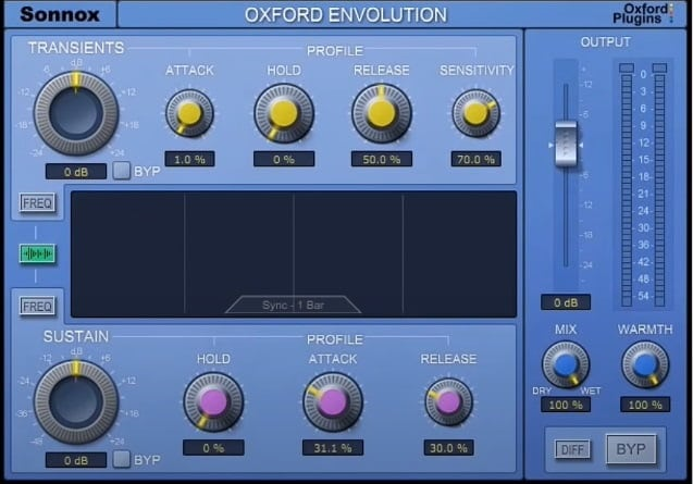 Oxford Envolution Native Review - The 10 Best Transient Shaper Plugins & Best FREE Plugins | Integraudio.com