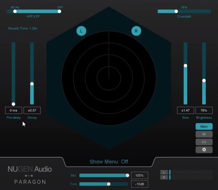 NUGEN Audio Paragon Review - The 10 Best Convolution Reverb Plugins   Integraudio.com
