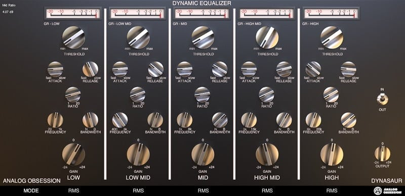 Analog Obsession Dynasaur - The 7 Best EQ Plugins For Mastering In 2021 | Integraudio.com