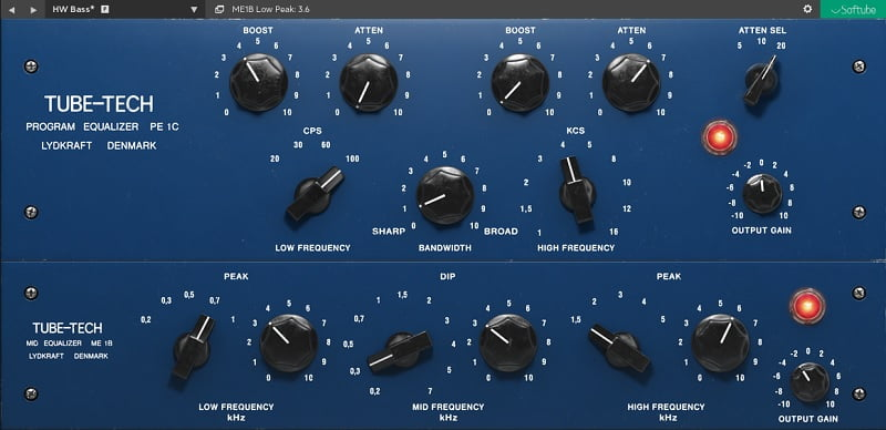 Tube-Tech Equalizer MKII - The 7 Best EQ Plugins For Mastering In 2021 | Integraudio.com