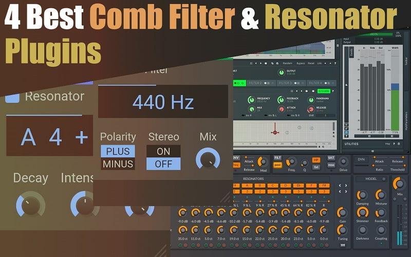 The 4 Best Comb Filter & Resonator Plugins 2021 | Melda, Kilohearts