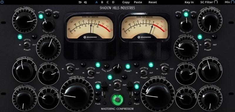 Shadow Hills Mastering Compressor - The 11 Best Mastering Compressor & Processor Plugins (With 2 Free Plugins)   Integraudio.com
