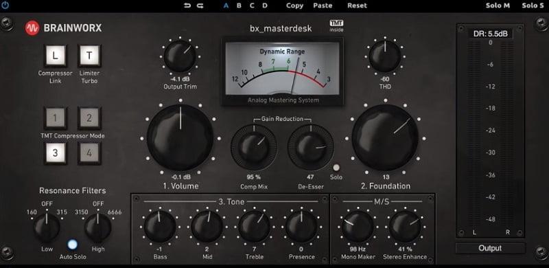 Brainworx Masterdesk - The 11 Best Mastering Compressor & Processor Plugins (With 2 Free Plugins)   Integraudio.com