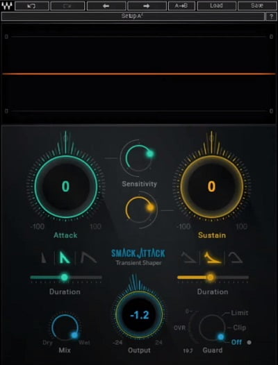 Waves Smack Attack Review - The 10 Best Transient Shaper Plugins & Best FREE Plugins | Integraudio.com