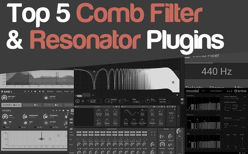 Top 5 Comb Filter & Resonator Plugins   Integraudio.com