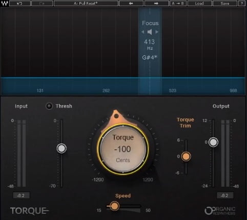 Waves Torque - The 6 Best Pitch Shifter Plugins 2021 (With 3 FREE Pitch Shifter Plugins)