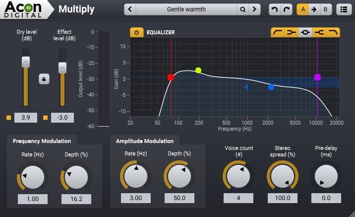 Acon Digital Multiply (Chorus) - 30 Best Free Plugins For Complete Music Production 2021 | Integraudio.com