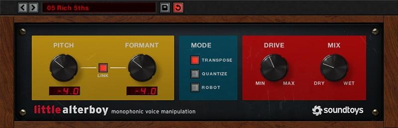 Soundtoys Little AlterBoy Review - 11 Best Vocoder & Vocal Processing Plugins 2021 (VST, AU, AAX)