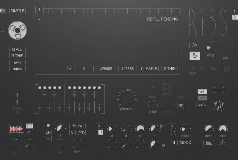 Hvoya Audio Ribs By Eugene Yakshin (Granulizer) - 30 Best Free Plugins For Complete Music Production 2021 | Integraudio.com
