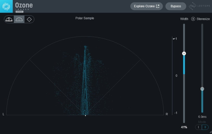 iZotope Imager 2 (Imager/Stereo Analyzer) - 30 Best Free Plugins For Complete Music Production 2021 | Integraudio.com