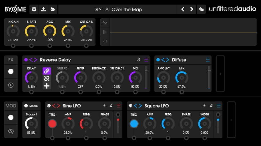 Unfiltered Audio Byome Review - The 10 Best Multi-Effect Plugins (VST, AU, AAX)
