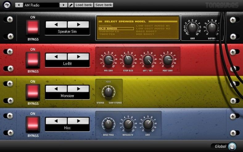 ToneBytes Lo-Fizer (Lo-Fi) - 30 Best Free Plugins For Complete Music Production 2021 | Integraudio.com
