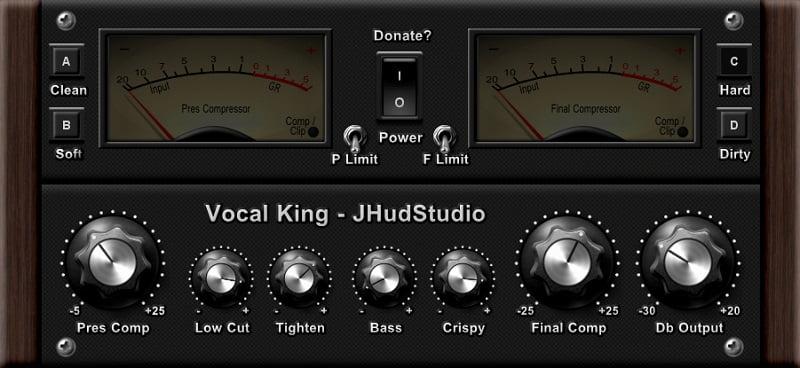 J-Hud-Studio Vocal King Review - Best Free Vocoder & Vocal Processing Plugins