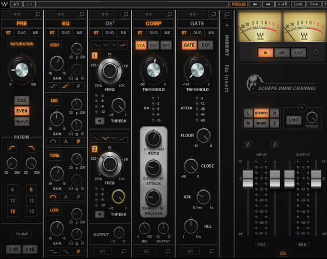 Waves Scheps Omni Channel Review - The 10 Best Multi-Effect Plugins (VST, AU, AAX)