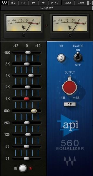 Waves API 560 - The 7 Best Graphic EQ Plugins   Integraudio.com