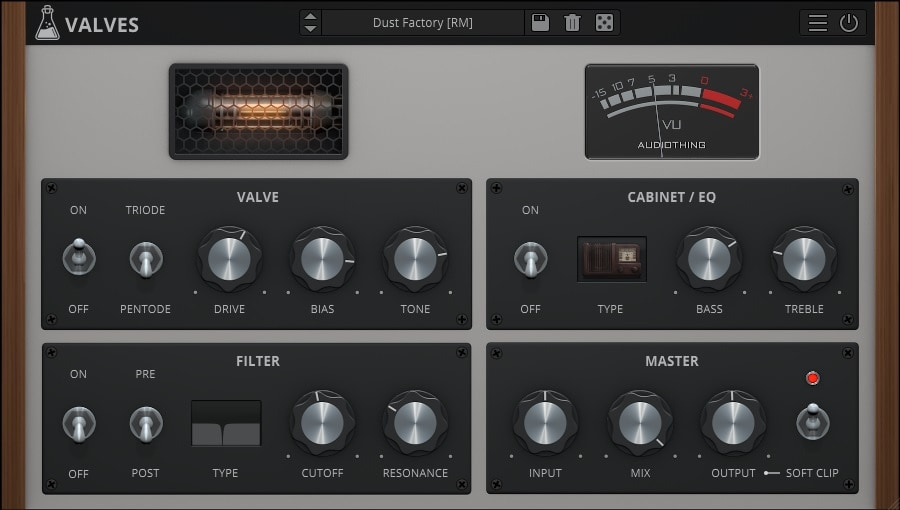 AudioThing Valves - Top 13 Saturation & Tape Emulation Plugins (VST,AU,AAX) | Integraudio.com