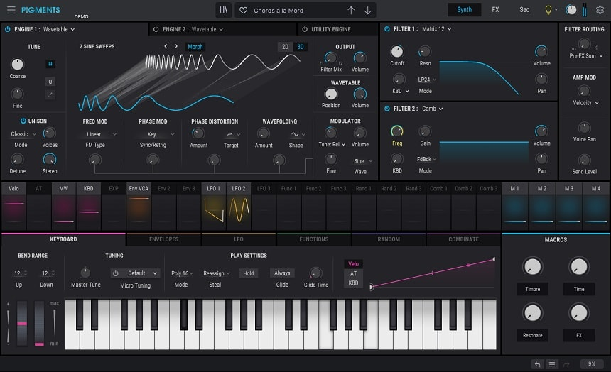 Arturia Pigments 3 Review - The 13 Best Synth & Instrument Plugins (And 5 Best FREE Synth Plugins) | Integraudio.com