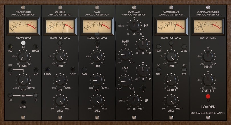 Analog Obsession LOADED - The 2 Best Channel Strip Plugins   Integraudio.com