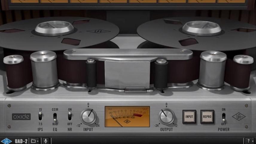 UAD Oxide Tape Recorder - Top 13 Saturation & Tape Emulation Plugins (VST,AU,AAX) | Integraudio.com