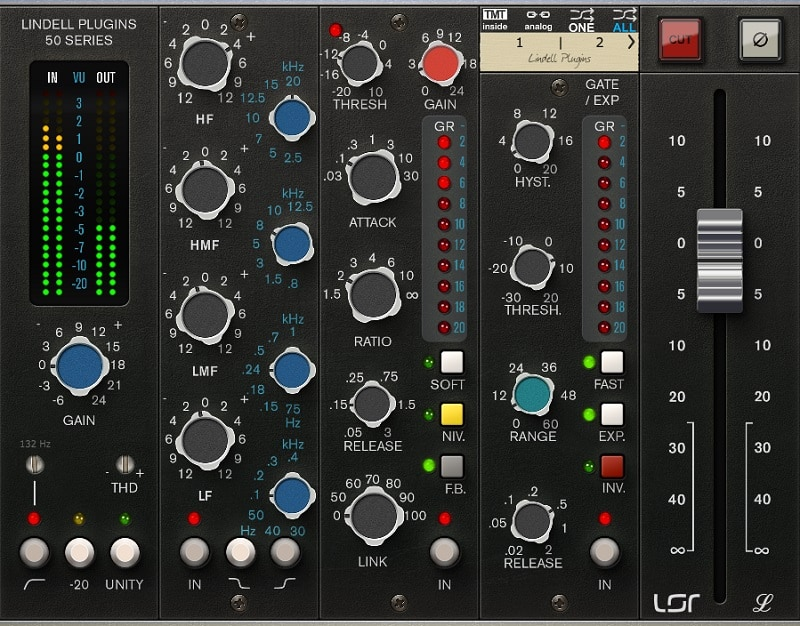 Lindell Audio 50 Series - The 7 Best Channel Strip Plugins (And 2 Best Free Plugins)   Integraudio.com