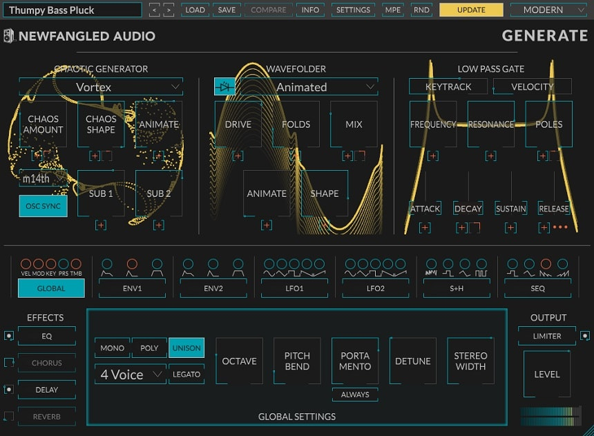 Newfangled Audio Generate Review - The 13 Best Synth & Instrument Plugins (And 5 Best FREE Synth Plugins) | Integraudio.com