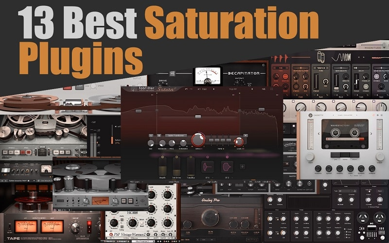 Top 13 Saturation & Tape Emulation Plugins 2021 For Mixing & Mastering