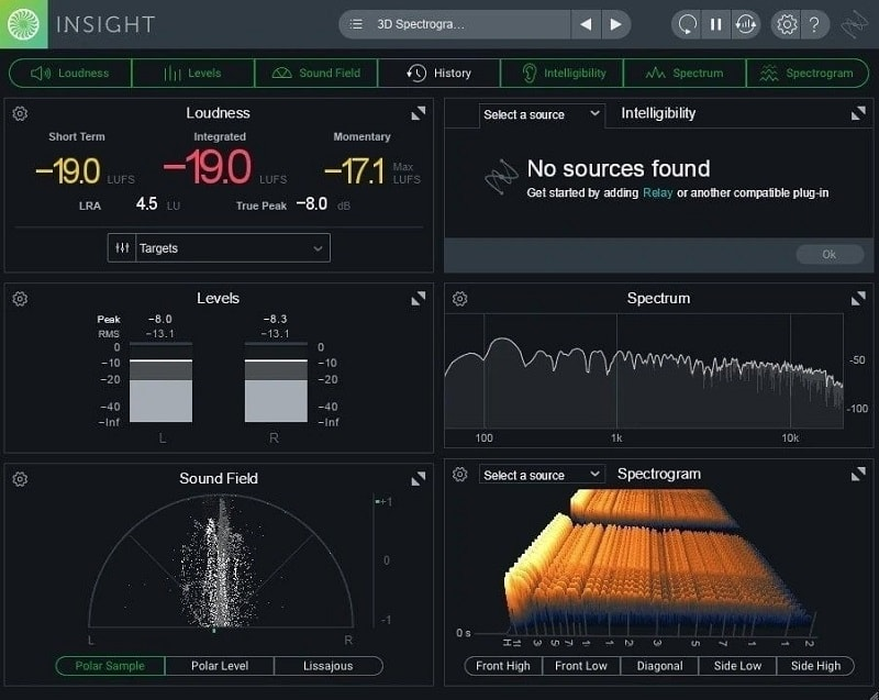 iZotope Insight 2 Review - Top 5 Audio Metering Plugins (LUFS, RMS, LRA, True Peak)   Integraudio.com