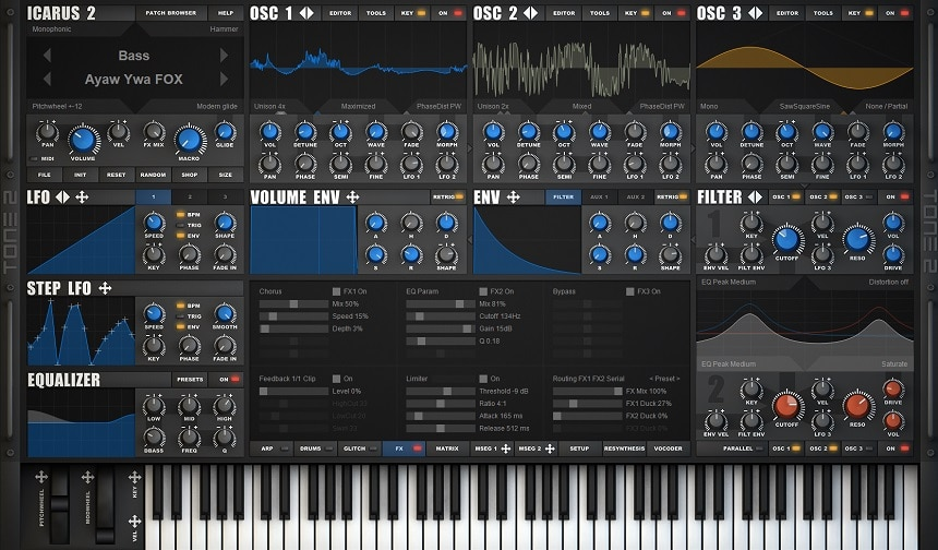 Tone2 Icarus Review - The 13 Best Synth & Instrument Plugins (And 5 Best FREE Synth Plugins) | Integraudio.com