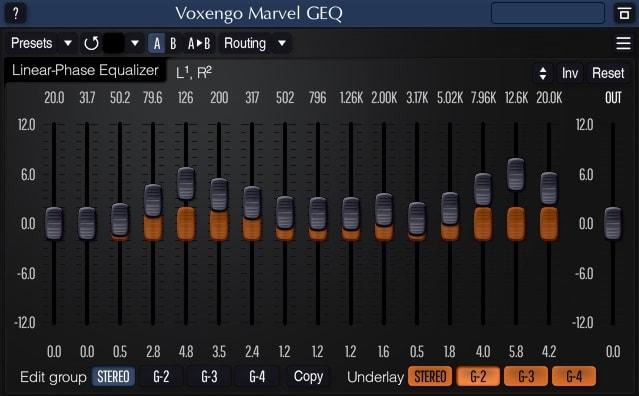 Voxengo Marvel GEQ - The 3 Best FREE Graphic EQ Plugins   Integraudio.com