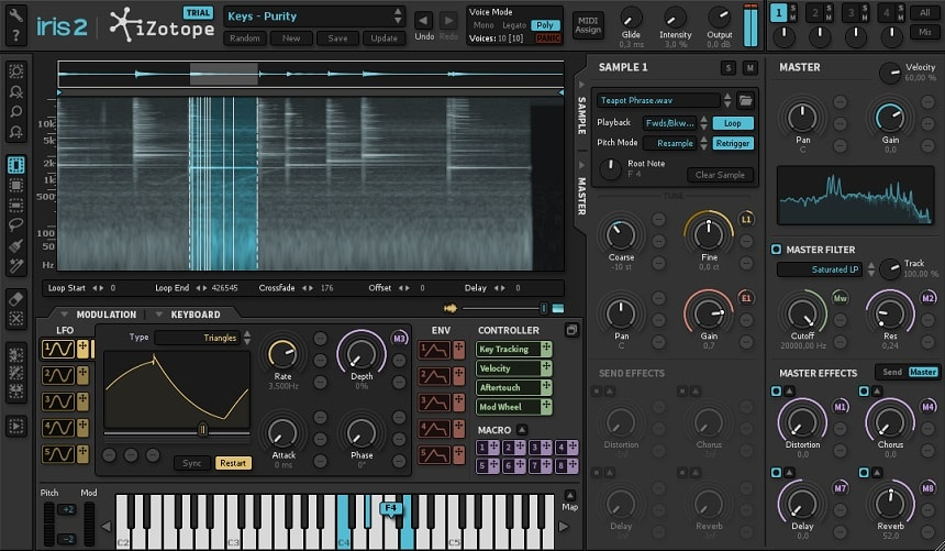 iZotope Iris 2 Review - The 13 Best Synth & Instrument Plugins (And 5 Best FREE Synth Plugins) | Integraudio.com