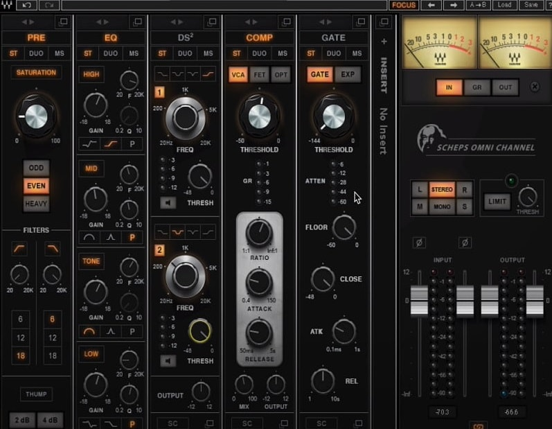 Waves Omni Channel - The 7 Best Channel Strip Plugins (And 2 Best Free Plugins)   Integraudio.com