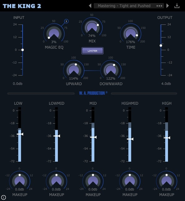 W.A. Production King 2 Review - Top 7 Multiband Compressor Plugins (And 4 FREE Plugins)   Integraudio.com
