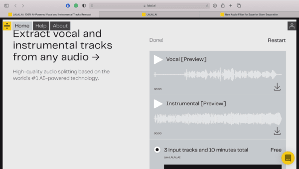 How do You Use LALAL.AI Review - Separate Your Vocals With Neural Network | Integraudio.com