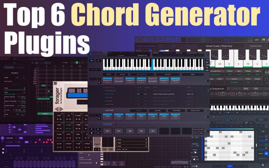 Top 6 Chord Generator Plugins (VST, AU, AAX) | Integraudio.com