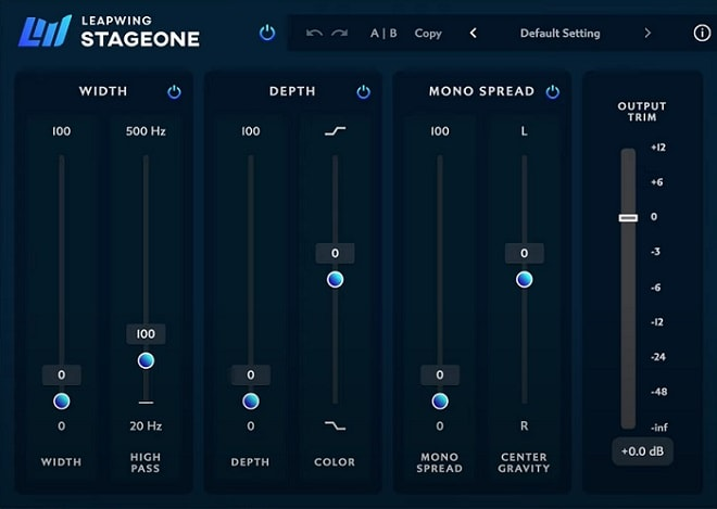 Leapwing Audio StageOne Review - Top 10 Stereo Widening Plugins | Integraudio.com