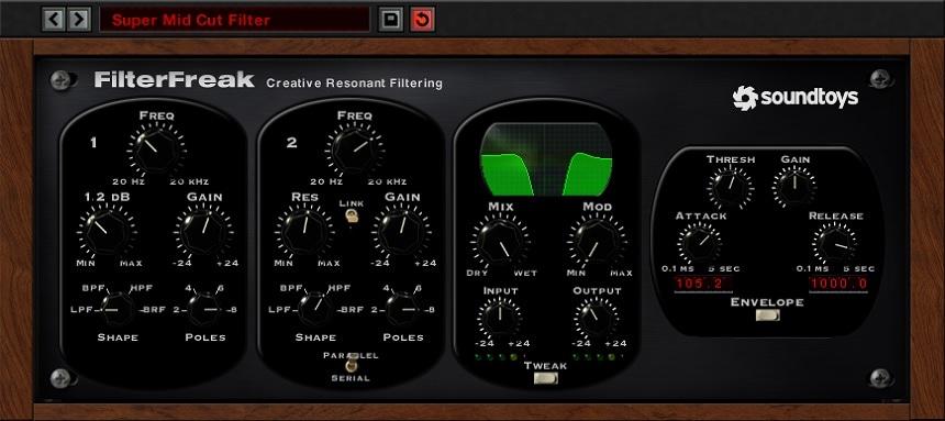 SoundToys FilterFreak 2 Review - 8 Best Filter Plugins (And 5 Best FREE Filter plugins) | Integraudio.com