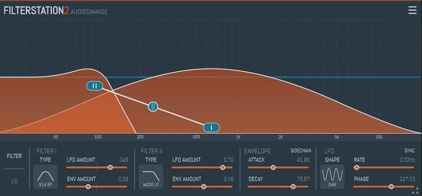 Audiodamage Filterstation 2 Review - 8 Best Filter Plugins (And 5 Best FREE Filter plugins) | Integraudio.com