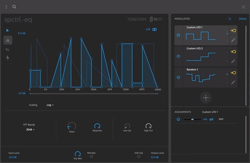 Tonsturm SPCTRL EQ Review - 8 Best Filter Plugins (And 5 Best FREE Filter plugins) | Integraudio.com