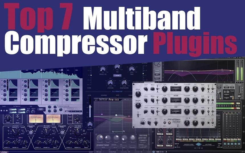 Top 7 Multiband Compressor Plugins (And 4 FREE Plugins)   Integraudio.com