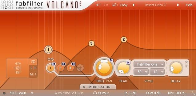 FabFilter Volcano 2 Review - 8 Best Filter Plugins (And 5 Best FREE Filter plugins) | Integraudio.com