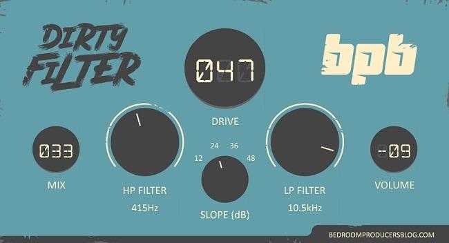 BPB Dirty Filter Review - 5 Best FREE Filter plugins | Integraudio.com